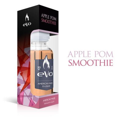 A balanced pomegranate and apple flavoured e-liquid