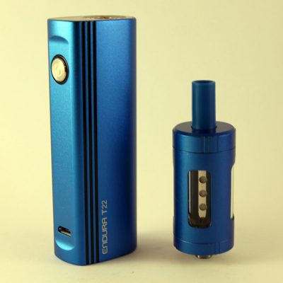 The T22 Starter Kit is Innokin's box mod brother to its T18 Kit.