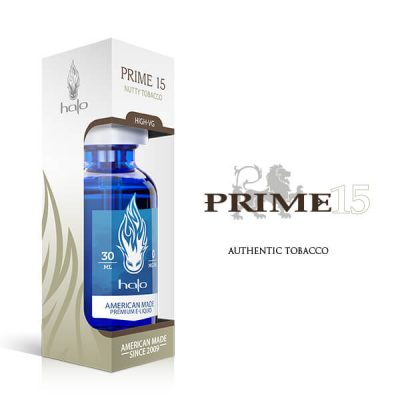 Prime15 tastes like an earthy tobacco blend