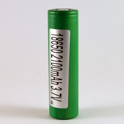 The Sony VTC4 18650 2100mAh battery.